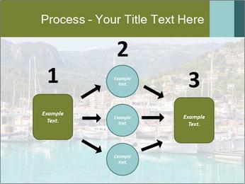 Port de Soller view PowerPoint Template - Slide 92