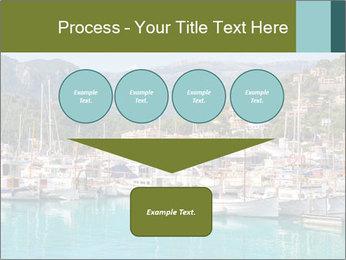Port de Soller view PowerPoint Template - Slide 93