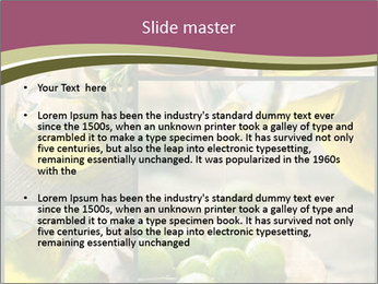 Olive harvest collage PowerPoint Template - Slide 2