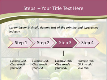 Olive harvest collage PowerPoint Template - Slide 4