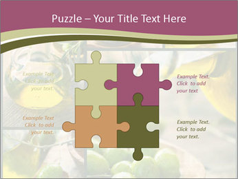 Olive harvest collage PowerPoint Template - Slide 43