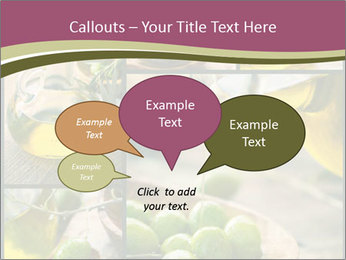 Olive harvest collage PowerPoint Templates - Slide 73