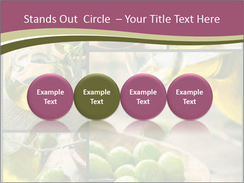 Olive harvest collage PowerPoint Templates - Slide 76