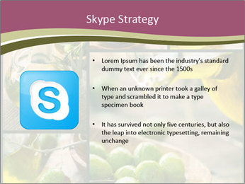 Olive harvest collage PowerPoint Template - Slide 8