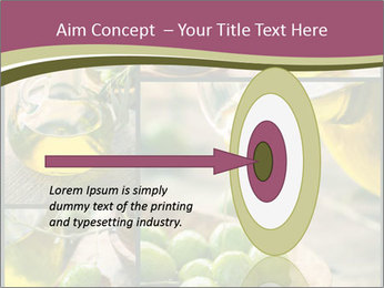 Olive harvest collage PowerPoint Template - Slide 83