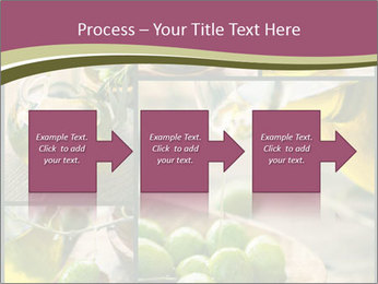 Olive harvest collage PowerPoint Template - Slide 88