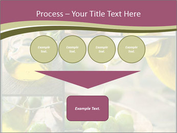 Olive harvest collage PowerPoint Template - Slide 93
