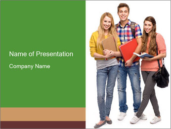 Students PowerPoint Template - Slide 1