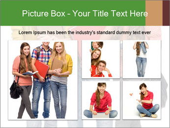 Students PowerPoint Template - Slide 19