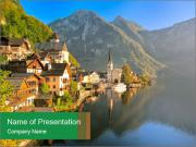 Hallstatt Lake PowerPoint Templates