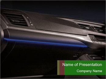 Business car interior PowerPoint Templates - Slide 1