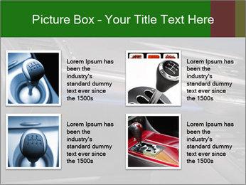Business car interior PowerPoint Templates - Slide 14