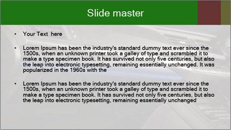 Business car interior PowerPoint Template - Slide 2