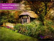 English style cottage PowerPoint Templates