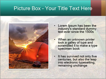 Camping in the wilderness PowerPoint Template - Slide 13