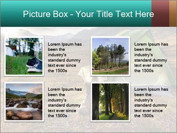 Camping in the wilderness PowerPoint Template - Slide 14