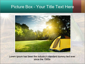 Camping in the wilderness PowerPoint Template - Slide 15