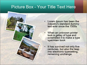 Camping in the wilderness PowerPoint Template - Slide 17