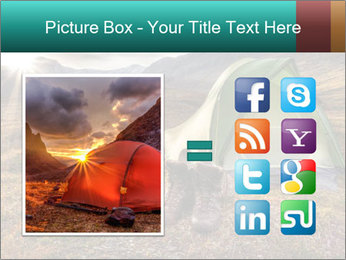 Camping in the wilderness PowerPoint Template - Slide 21