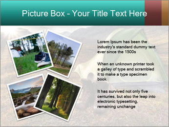 Camping in the wilderness PowerPoint Template - Slide 23