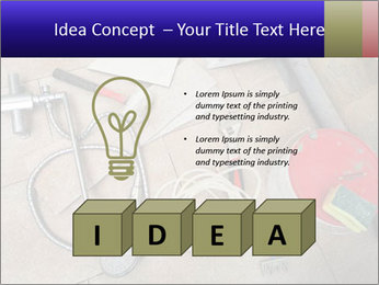 Different tools PowerPoint Template - Slide 80