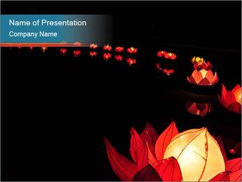 Lantern Festival PowerPoint Templates - Slide 1