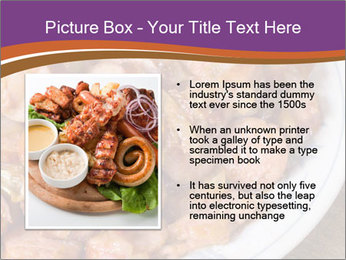 Traditional meat PowerPoint Template - Slide 13