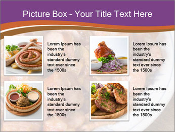 Traditional meat PowerPoint Template - Slide 14