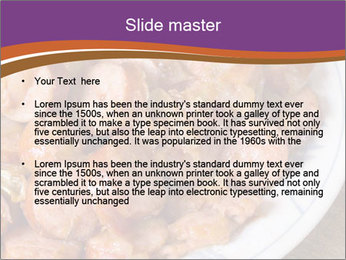 Traditional meat PowerPoint Template - Slide 2