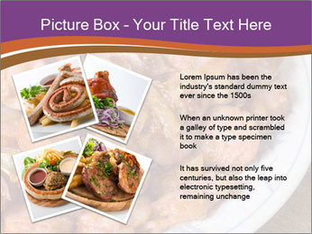 Traditional meat PowerPoint Template - Slide 23
