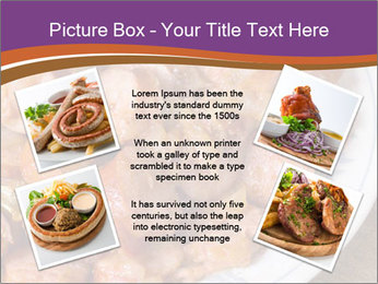 Traditional meat PowerPoint Template - Slide 24