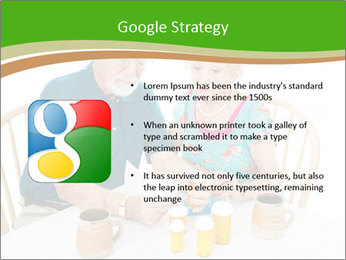 Senior couple PowerPoint Template - Slide 10