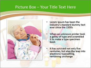 Senior couple PowerPoint Template - Slide 13