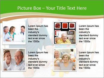 Senior couple PowerPoint Template - Slide 14