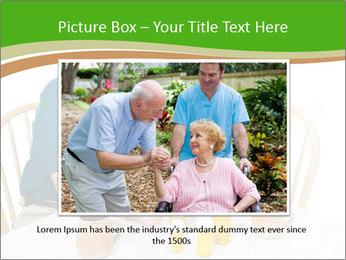 Senior couple PowerPoint Template - Slide 15