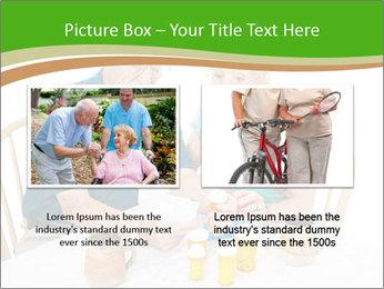 Senior couple PowerPoint Template - Slide 18