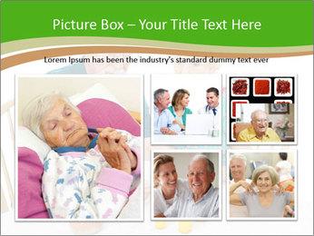 Senior couple PowerPoint Template - Slide 19