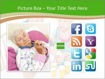 Senior couple PowerPoint Template - Slide 21