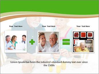 Senior couple PowerPoint Template - Slide 22