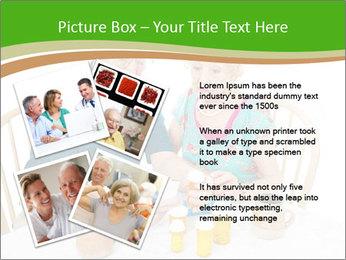 Senior couple PowerPoint Template - Slide 23