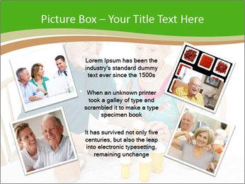 Senior couple PowerPoint Template - Slide 24