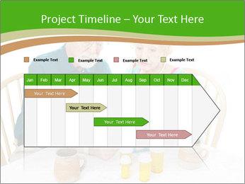 Senior couple PowerPoint Template - Slide 25