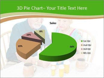Senior couple PowerPoint Template - Slide 35
