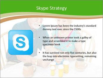 Senior couple PowerPoint Template - Slide 8