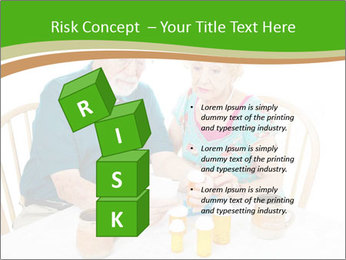 Senior couple PowerPoint Template - Slide 81