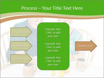 Senior couple PowerPoint Template - Slide 85