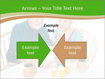 Senior couple PowerPoint Template - Slide 90