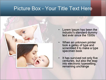 African mother kissing her daughter PowerPoint Template - Slide 20