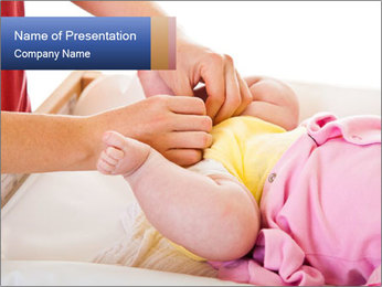Mother changing PowerPoint Template