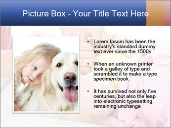 Mother changing PowerPoint Template - Slide 13